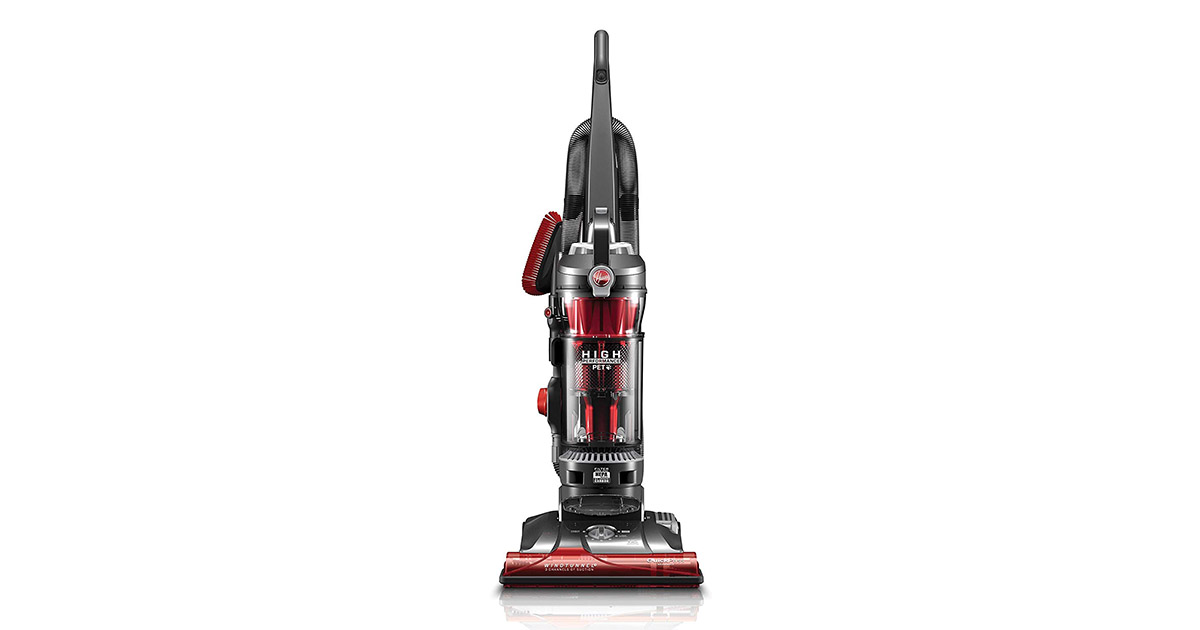 Hoover UH72630PC WindTunnel 3 High Performance Pet Bagless Corded Upright Vacuum image