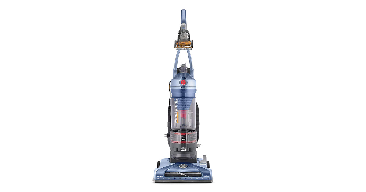 Hoover UH70210 T-Series WindTunnel Pet Rewind Bagless Corded Upright Vacuum image