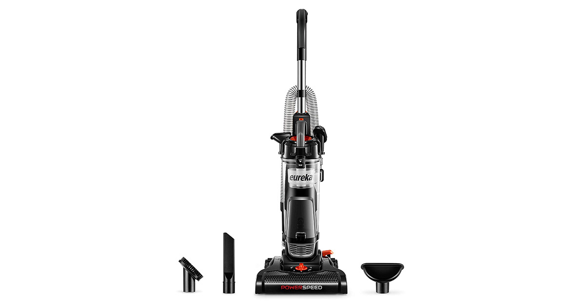 Eureka NEU180B Lightweight Powerful Upright Pet Hair Graphite Vacuum Cleaner image