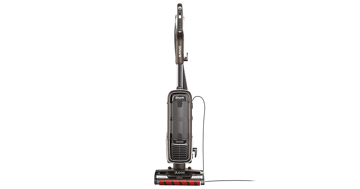 Shark AZ1002 Upright Vacuum with DuoClean for Carpet and HardFloor Cleaning image