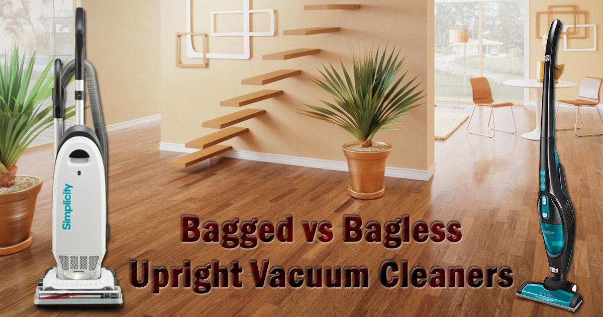 Bagged vs Bagless Upright Vacuum Cleaners image