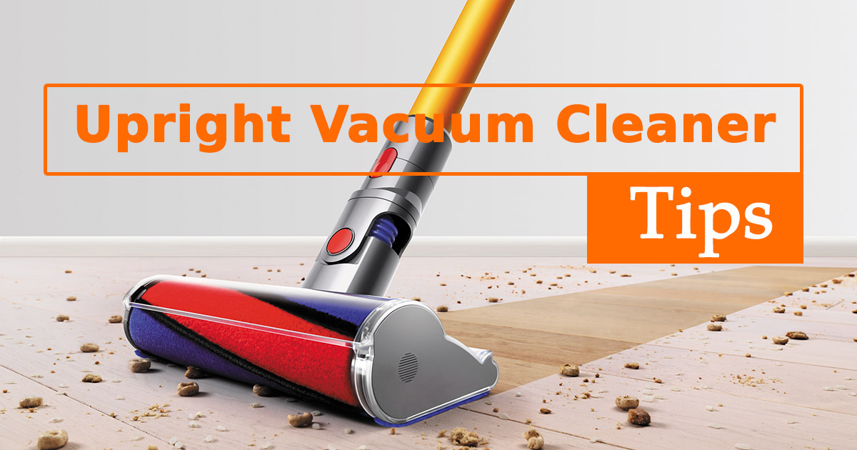 Upright Vacuum Cleaner Tips image