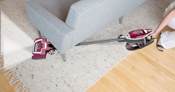 For Pet hair or debris or fine dust; Choose one from these Powerful Shark Upright Vacuum Cleaners